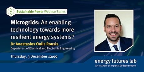 Microgrids: An enabling technology towards more resilient energy systems? tickets