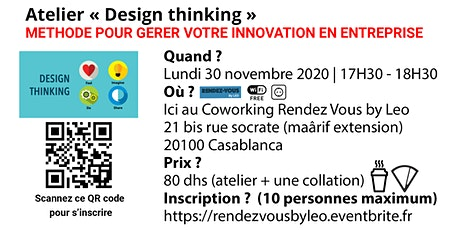 Atelier Design Thinking tickets