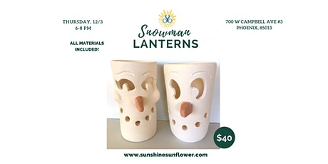 Snowman Lanterns tickets