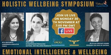 Emotional Intelligence and Wellbeing tickets