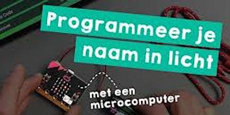 Kidz Science presenteert: Programmeren met Mico:bit en Dash tickets
