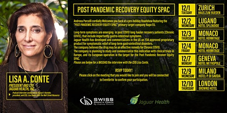 Post Pandemic Recovery Equity SPAC - Geneva, 3/12 tickets