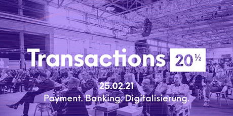 Transactions 20½ - Teil 2 tickets