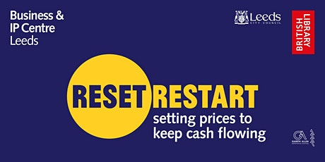 Reset. Restart: 1:1 advice session Setting prices to keep cash flowing tickets