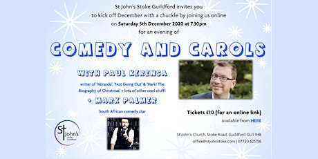 Comedy and Carols with Paul Kerensa tickets