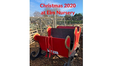 December daily entry to Elm Nursery children's farm with festive scenes tickets