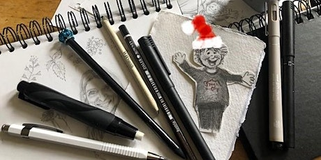 Festive Crafternoon: Learn to Sketch with Illustrator Carol Baines tickets