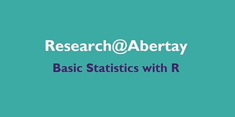 Research@Abertay: Basic statistics with R tickets