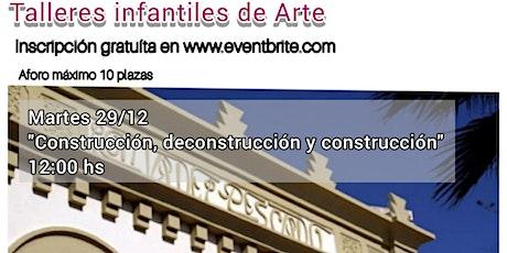 """Taller infantil """"PUNTO DE· FUGA"""" de Fuencisla Francés entradas"""