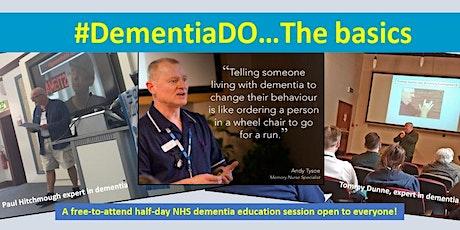 #DementiaDO...Online Basics tickets
