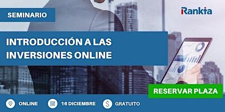 Introducción a las inversiones online entradas