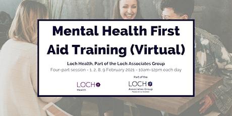 Mental Health First Aid Course (Virtual) tickets