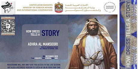 DIALOGUES ON THE ART OF ARAB FASHION: HOW DRESS TELLS A STORY tickets