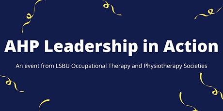 AHP Leadership in Action tickets