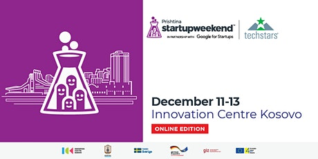 Techstars Startup Weekend Prishtina 2020 tickets