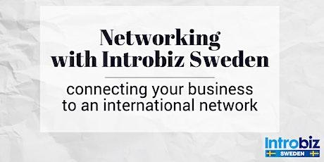Networking on Wednesday evening with Introbiz Sweden tickets