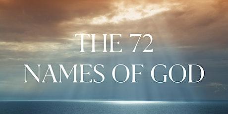 Die 72 Namen Gottes (Livestream) (DE) Tickets