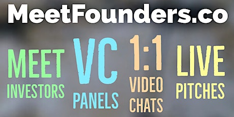 MeetFounders [North America - Jan 2021] VC Investment Panels + Pitches tickets