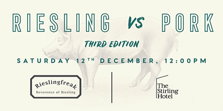 Stirling Hotel Riesling vs Pork Luncheon tickets