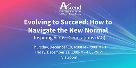 Evolving to Succeed: How to Navigate the New Normal tickets