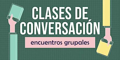 Clases Conversación en Inglés - Grupal tickets