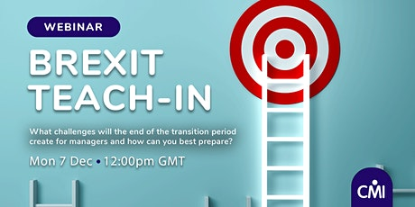 CMI Brexit Teach-In tickets