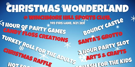 Christmas wonderland tickets