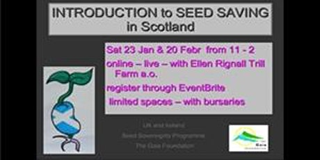 Introduction to Seed Saving in Scotland tickets
