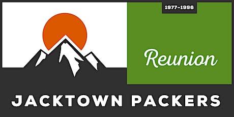 Jacktown Packers Reunion - 1977-1996 tickets