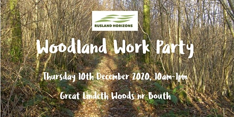 Rusland Horizons Woodland Work Party- December 2020
