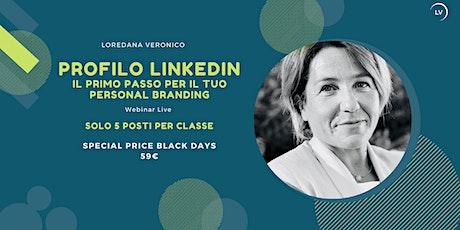 Profilo Linkedin |  Primo passo per il tuo personal branding biglietti