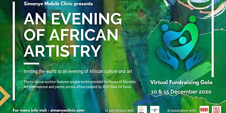 An Evening of African Artistry - A Fundraising Gala by Simanye Clinic tickets