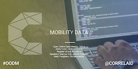 Open Online Data Meetup Vol. 6: Mobility Data tickets