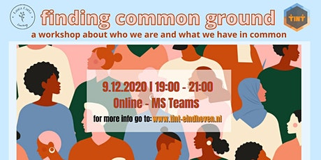 Finding Common Ground workshop tickets