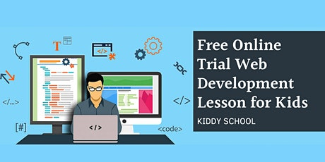 Free Online Trial - Web Development Lesson for Kids tickets