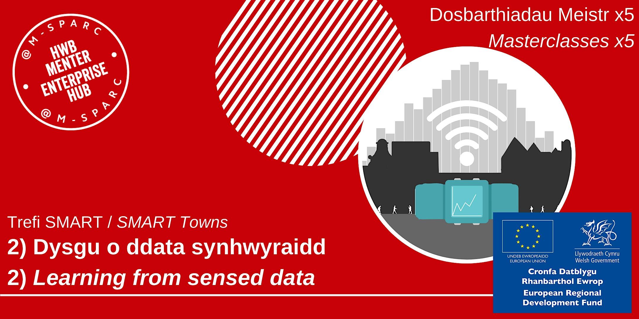 Trefi SMART-Dysgu o ddata synhwyraidd/SMART Towns-Learning from sensed data