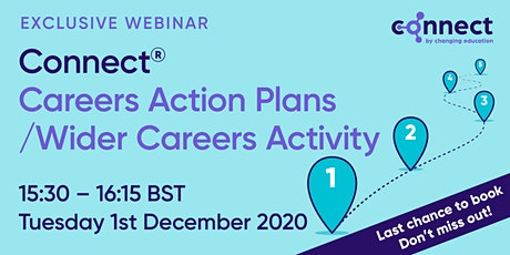CONNECT - Careers Action Plans / Wider Careers Activity tickets