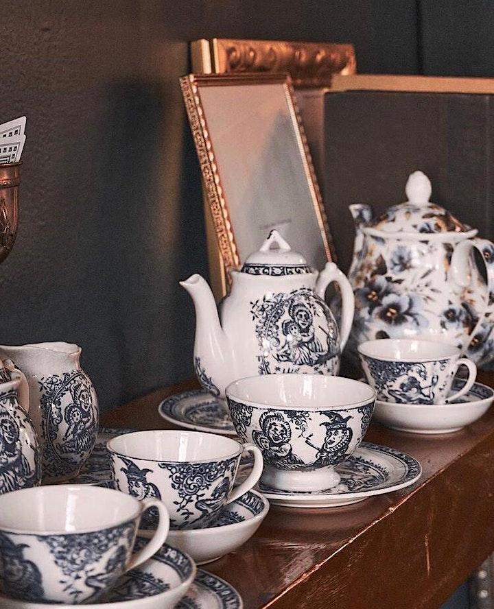 The Secret Tea Room of Hoboken:  Second Seating 12:30-2:00 PM  $75 pp image