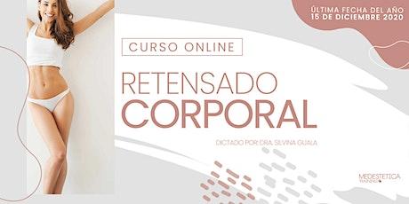 Curso Online de Retensado Corporal entradas