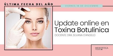 Update Online en Toxina Botulínica entradas