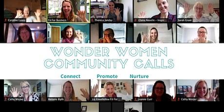Wonder Women Community Calls tickets