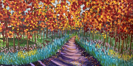 Acrylic Painting Beginners  Class - Learn to paint expressively & have fun tickets