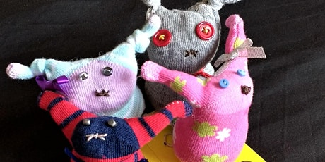 Family Crafts- Make a Super Sock Toy tickets