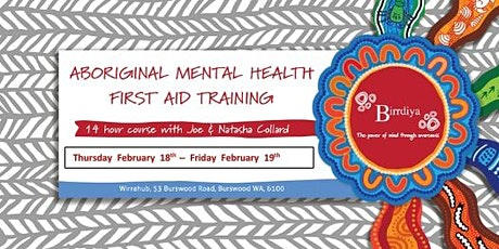 Aboriginal Mental Health First Aid tickets