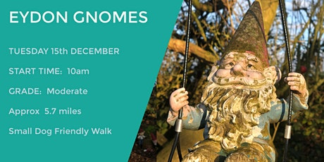EYDON GNOME WALK | 5.7 MILES | MODERATE | NORTHANTS tickets