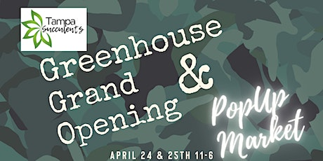 Greenhouse Grand Opening DIY tickets