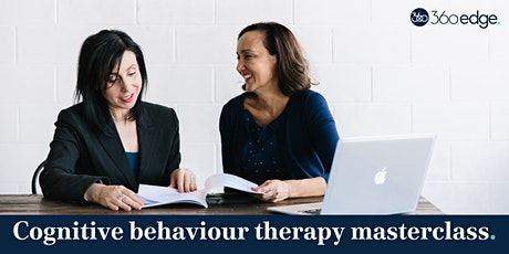 Cognitive behaviour therapy masterclass (F2F) tickets