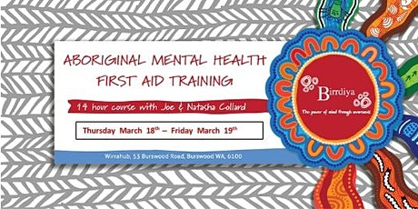 Aboriginal Mental Health First Aid Training tickets