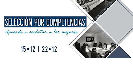 Curso de selección por competencias 15/12 y 22/12 entradas