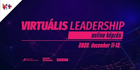 Virtuális leadership – online képzés tickets